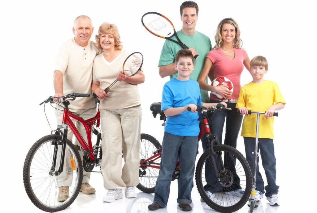 Спорт, семья, ВК