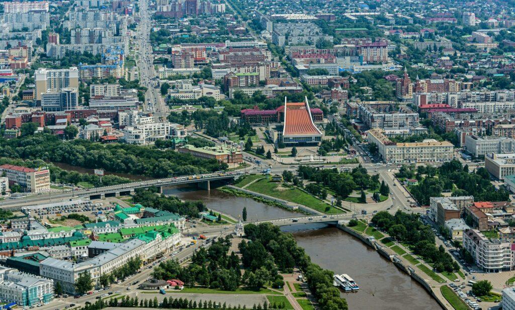 Город Омск. ВК